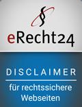E-Recht24 Siegel - iDIA Marketing Grabow Werbeagentur