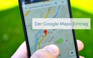 Der Google Maps Eintrag - Werbeagentur Grabow iDIA Marketing