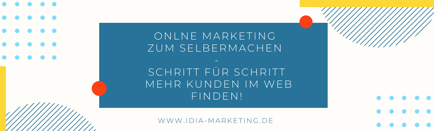 Online Marketing zum Selbermachen