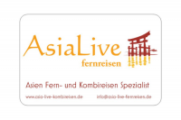 Referenz iDIA Marketing - Visitenkarte für Asia Live Fernreisen