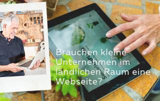 Webseite kleine Unternehmen Webdesign Grabow